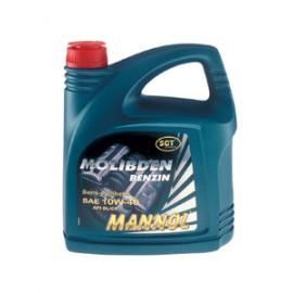 м.м 10W40 MANNOL Molib Benzin 4л.