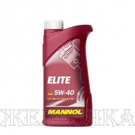 м.м 5w40 Mannol Elite 1л