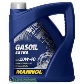 м.м 10w40 Mannol Gasoil Extra 4л