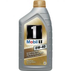 м.м 0w40 MOBIL 1  1л.