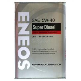 м.м 5W40  ENEOS Diesel super syntetic CH-4 1л.